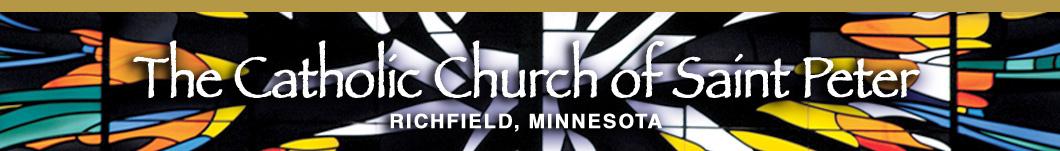St. Peter's Catholic Church Logo